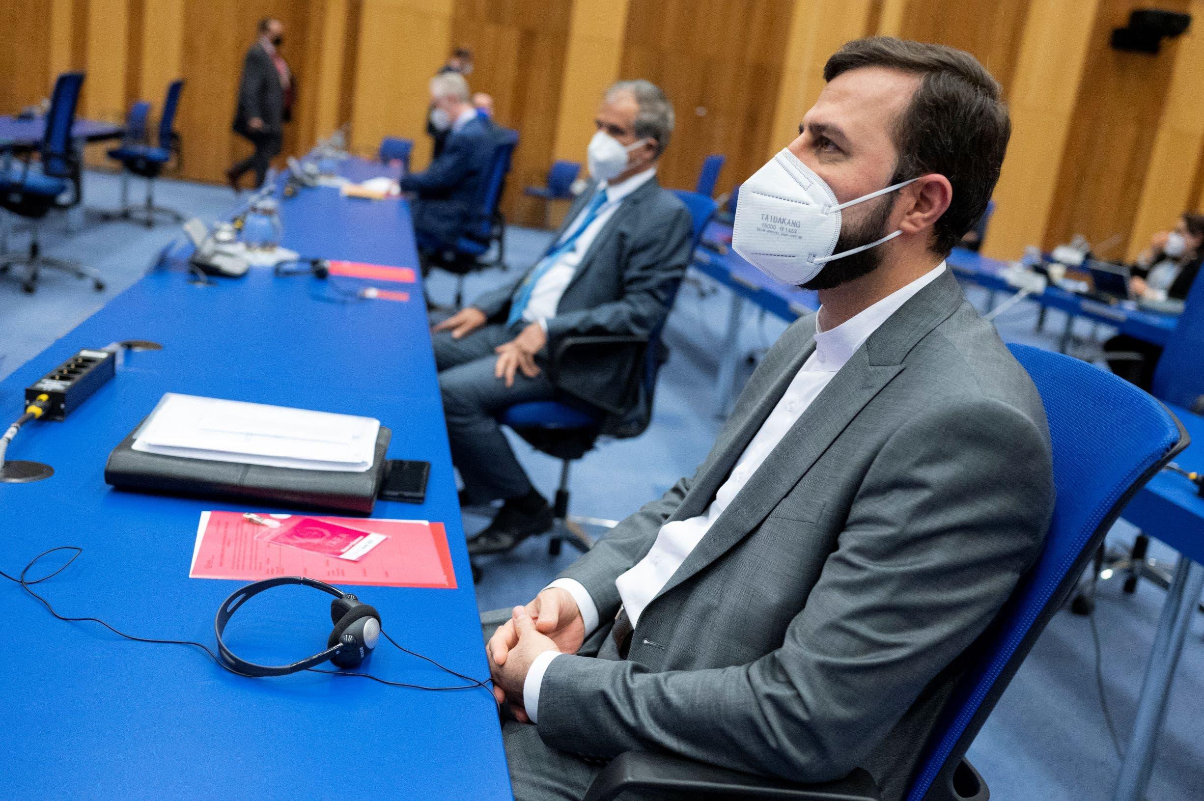 ممثل إيران في مفاوضات فيينا