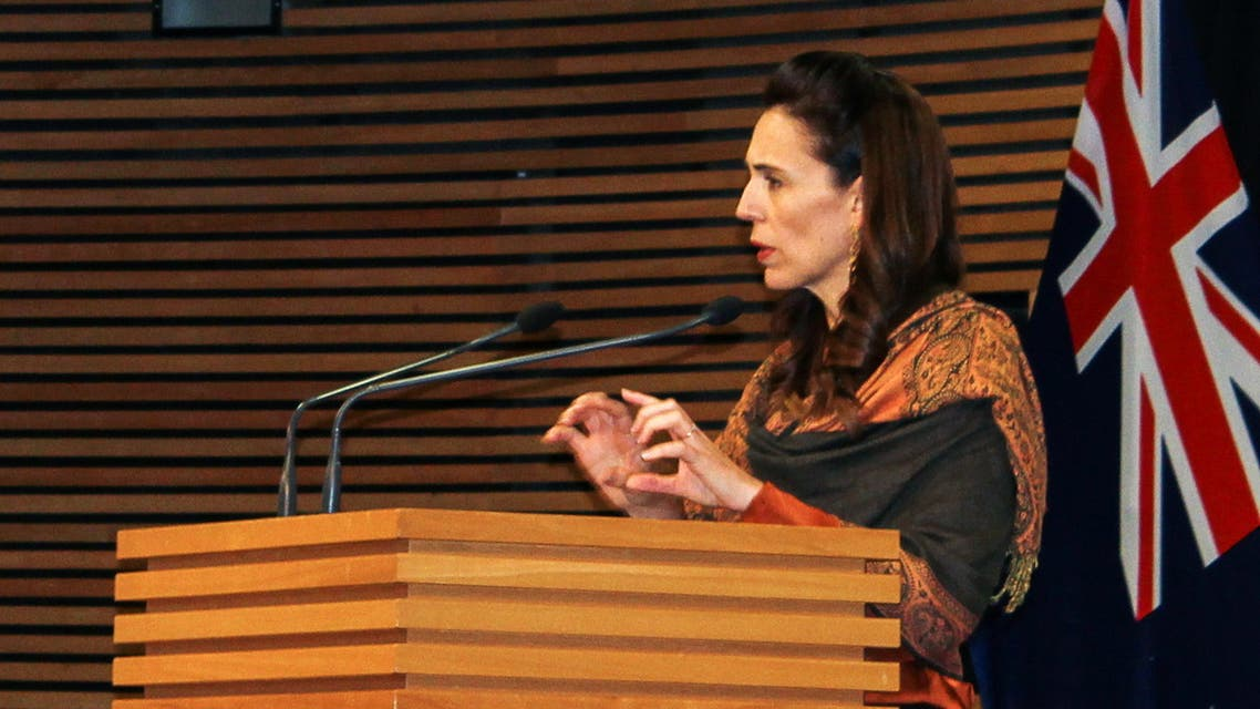 New Zealand's Prime Minister Jacinda Ardern speaks at a news conference on the coronavirus disease (COVID-19) pandemic in Wellington, New Zealand, February 17, 2021. (File photo: Reuters)