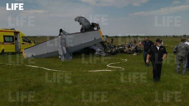 مقتل 4 وإصابة 4 في هبوط اضطراري لطائرة صغيرة في سيبيريا