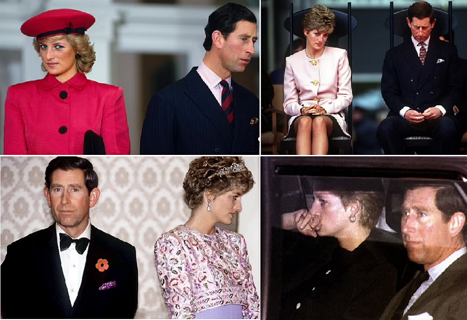 صور كثيرة كانت تثبت أن العلاقة بين ولي العهد البريطاني وزوجته الأميرة ديانا، لم تكن على ما يرام