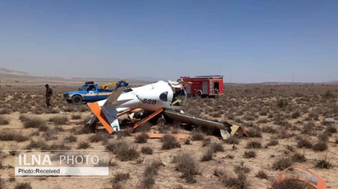 سقوط هواپیمای آموزشی ایران
