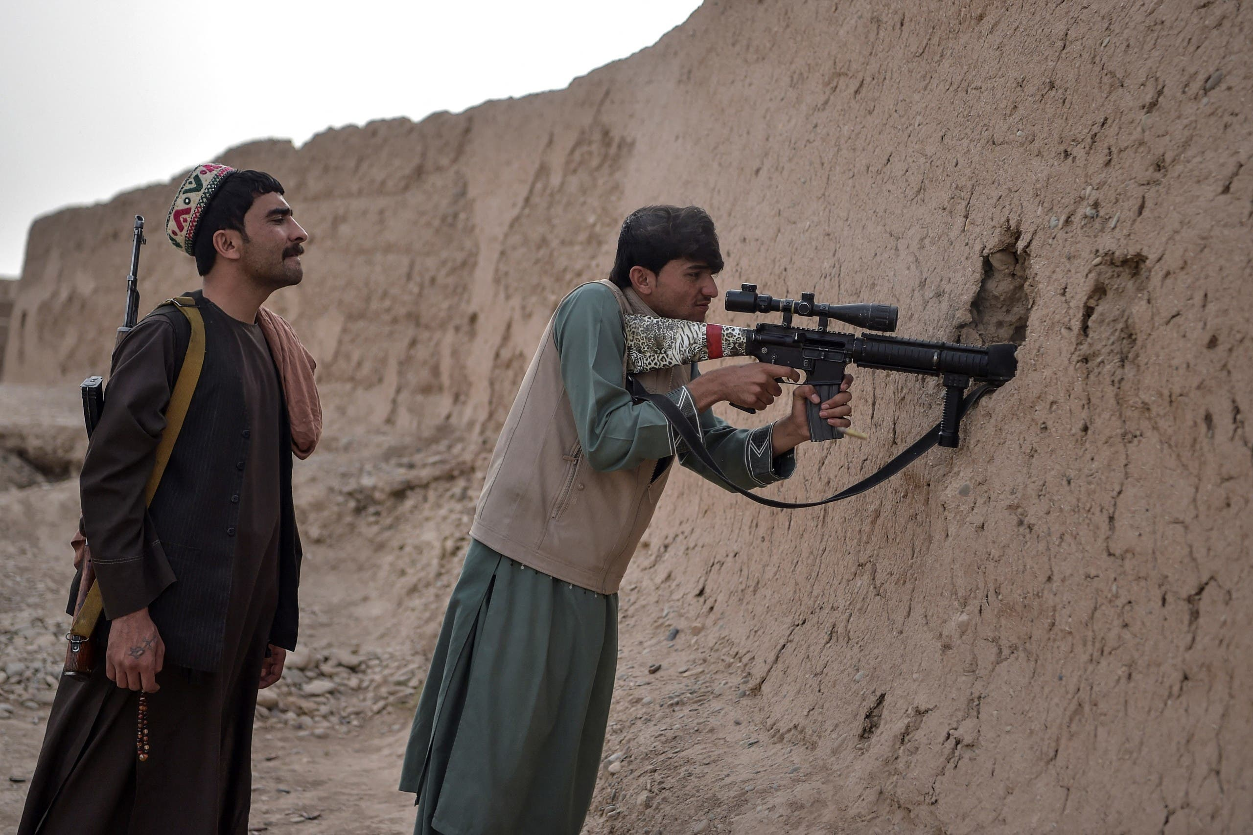 In the face of bloody battles … Taliban: Committed to peace