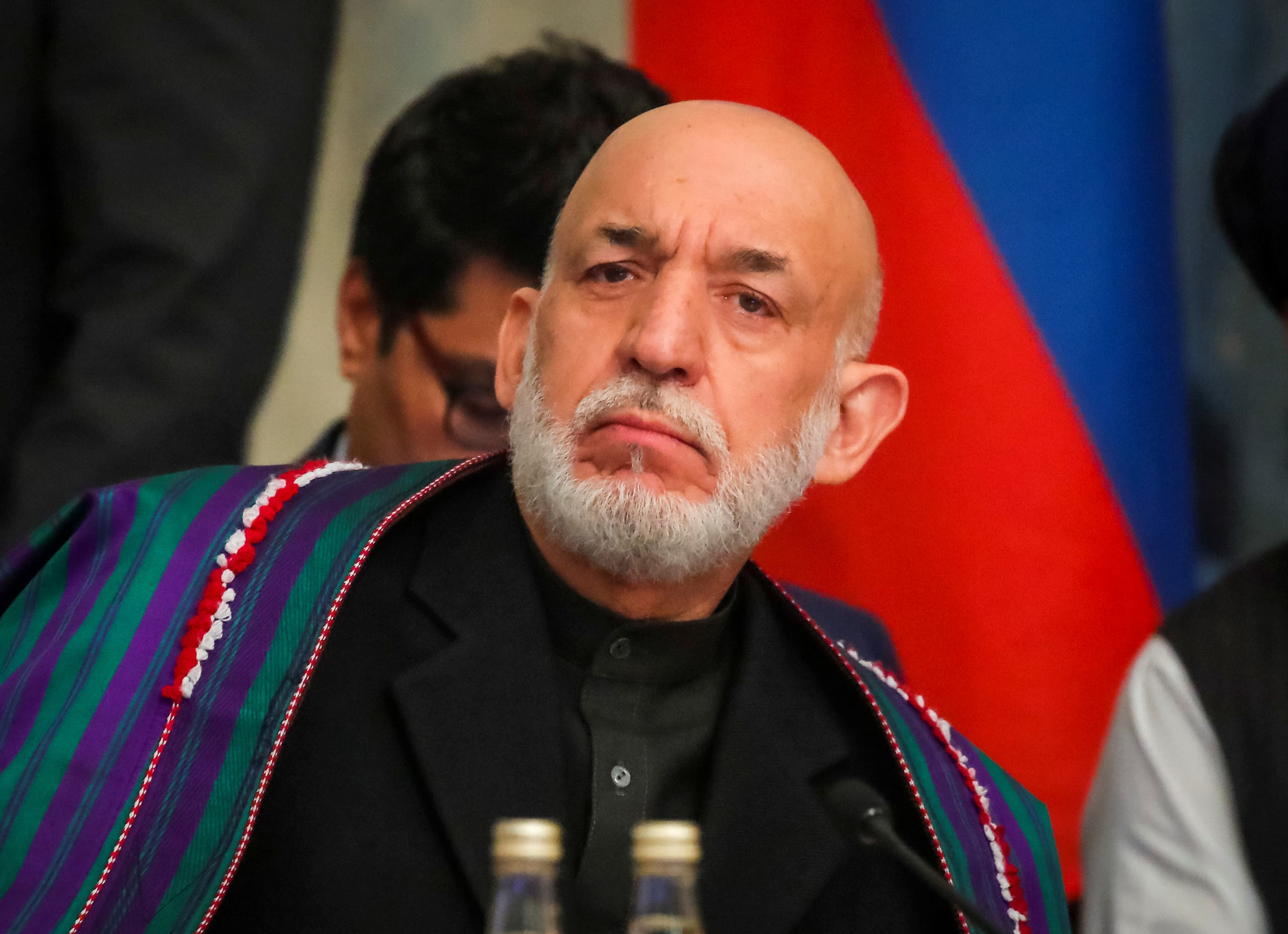 رئيس أفغانستان السابق حامد كرزاي (رويترز)