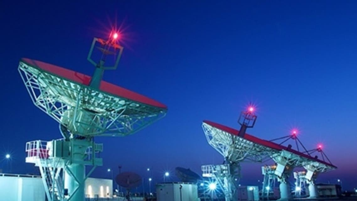 A general view of satellites from Mubadala's Yahsat satellite company. (Supplied)