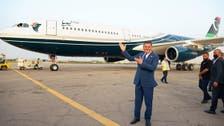 غابت 10 سنوات..شاهد طائرة القذافي تحلق في سماء طرابلس