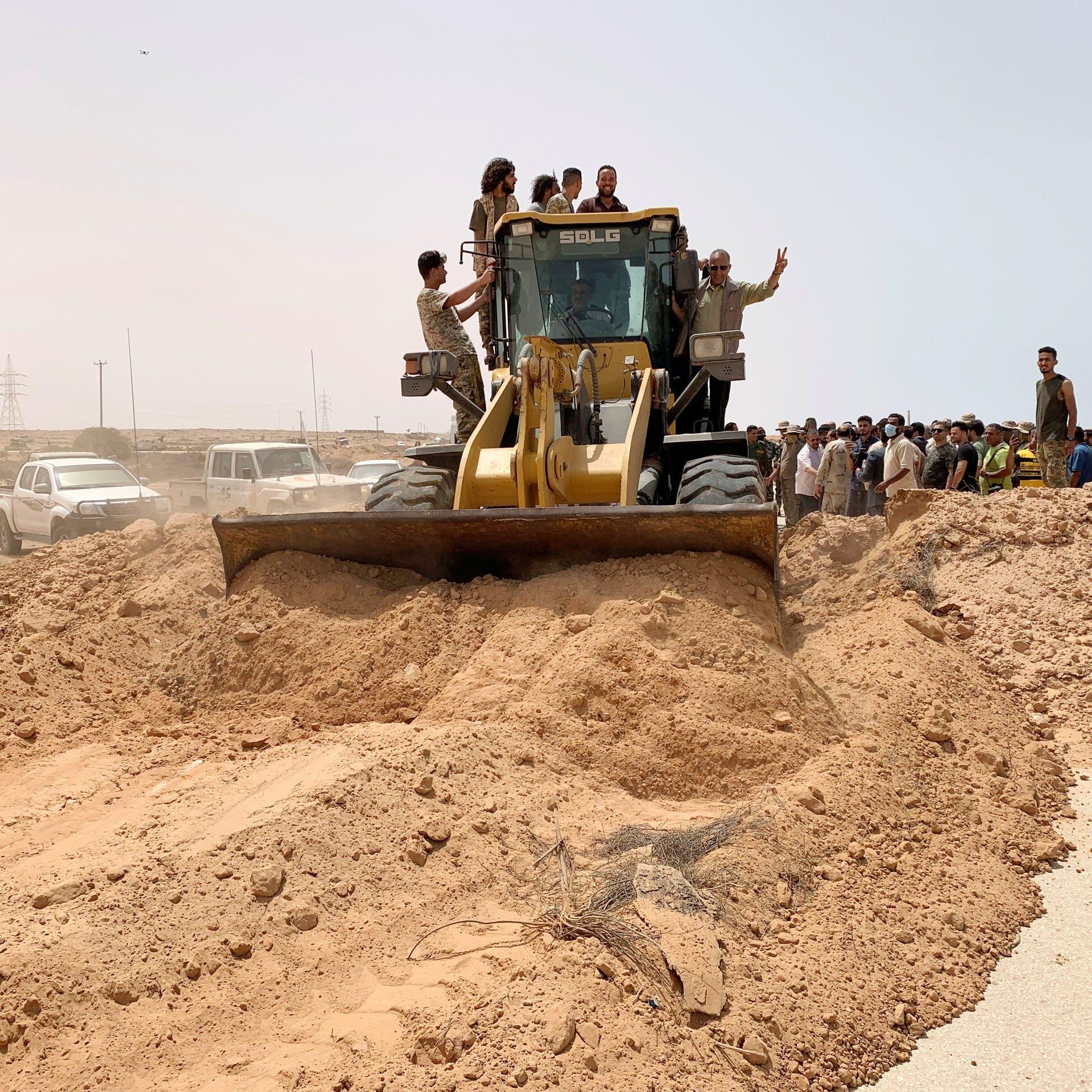 أزمة الطريق الساحلي بليبيا.. تظاهرات ضد الدبيبة
