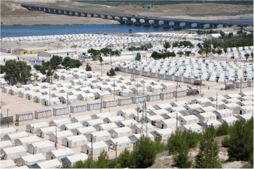 کمپ پناهجویان در ترکیه «آرشیوی»