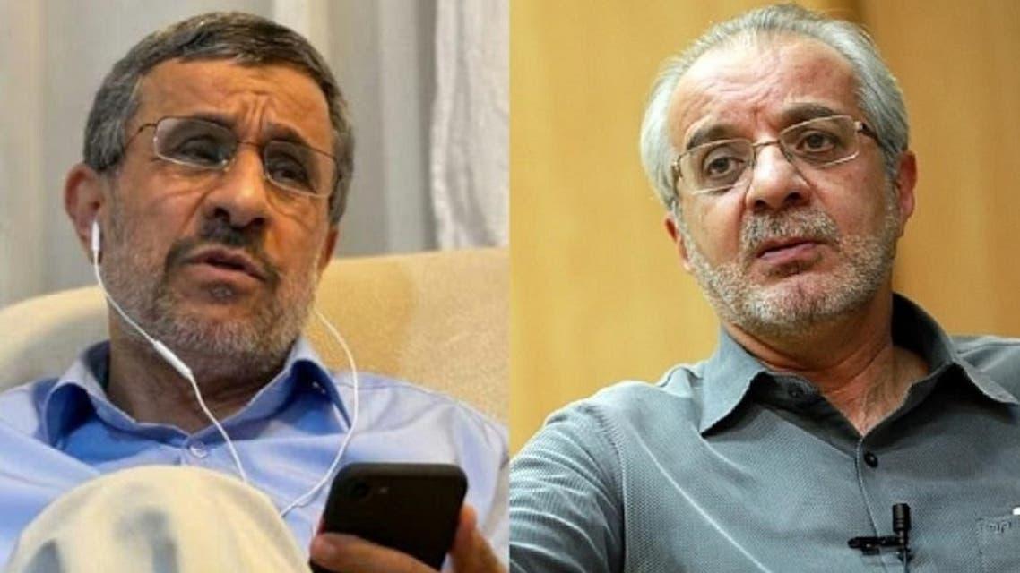 خجسته ومحمود أحمدي نجاد