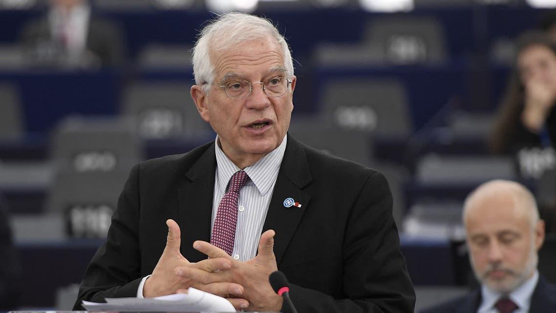 الممثل الأعلى للسياسة الخارجية في الاتحاد الأوروبي، جوزيب بوريل(فرانس برس)