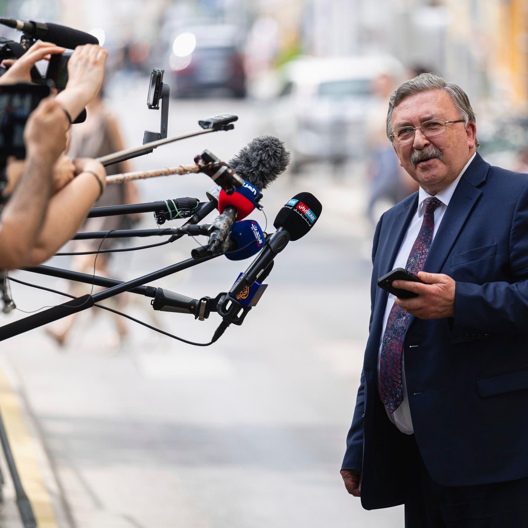 مندوب روسيا: العودة إلى مفاوضات فيينا مع إيران مسألة وقت
