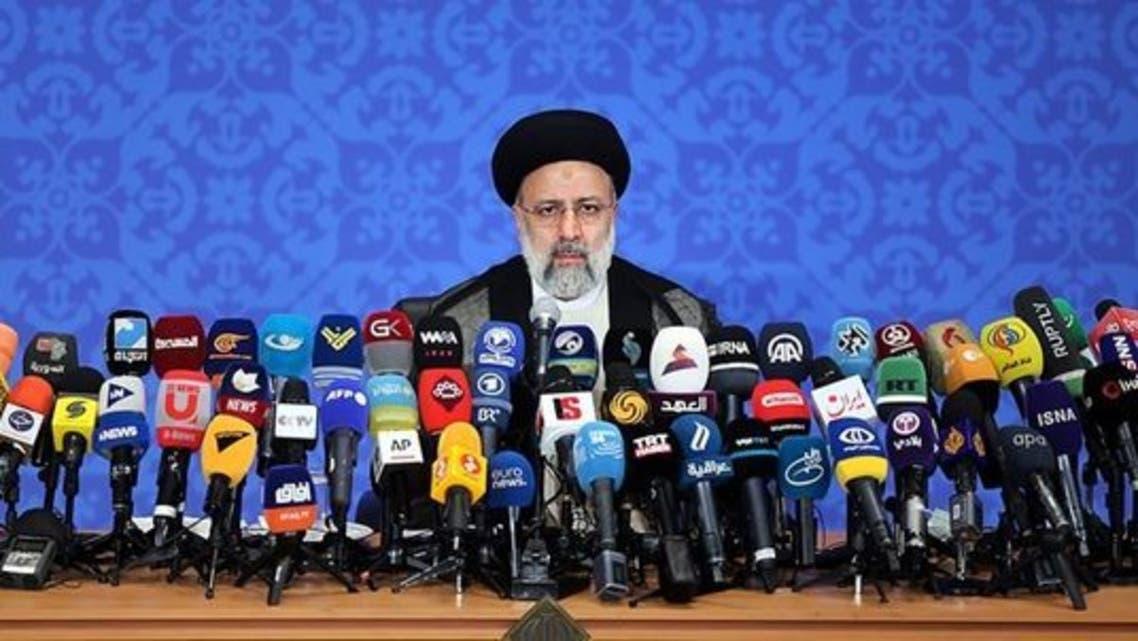 اولین نشست خبری ابراهیم رئیسی