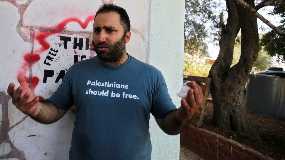 File photo of Palestinian activist Issa Amro. (AP)