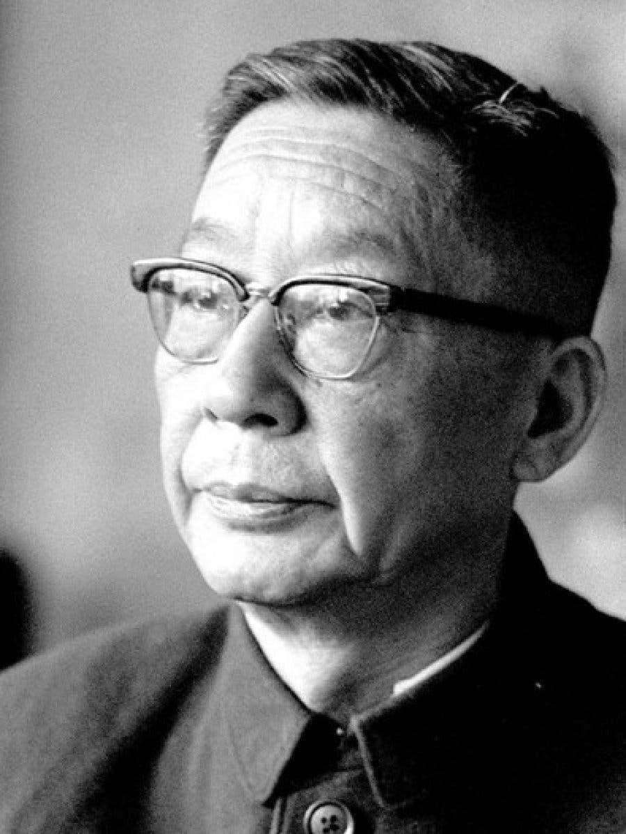 صورة للروائي الصيني لاو شه التقطت خلال الستينيات