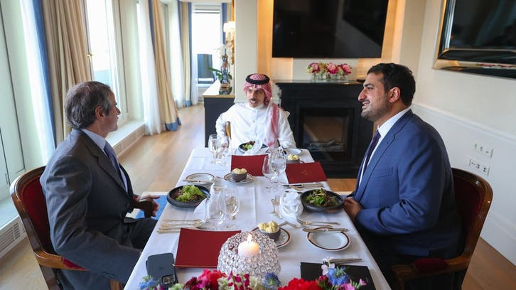 Saudi Arabia's FM and IAEA chief discuss Iran's nuclear program