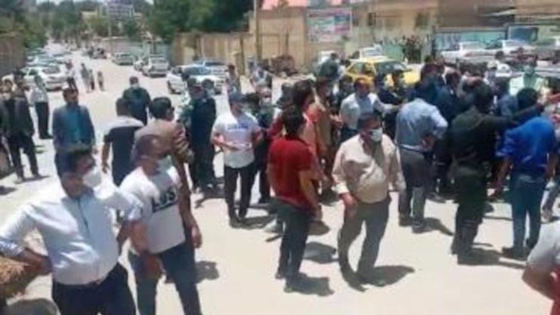 اعتراضات در یاسوج