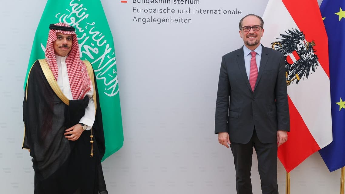 Saudi Arabian, Austrian FMs hold joint press conference in Vienna