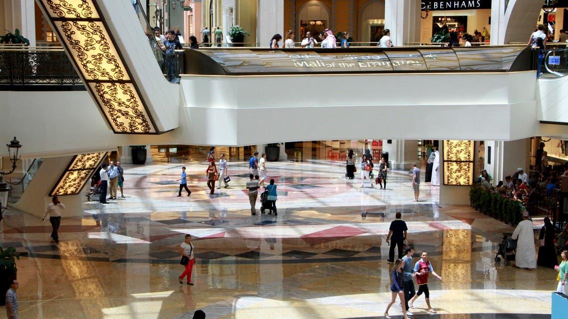 People shop at Al Futtaim's Mall of the Emirates in Dubai June 26, 2012. (Reuters)