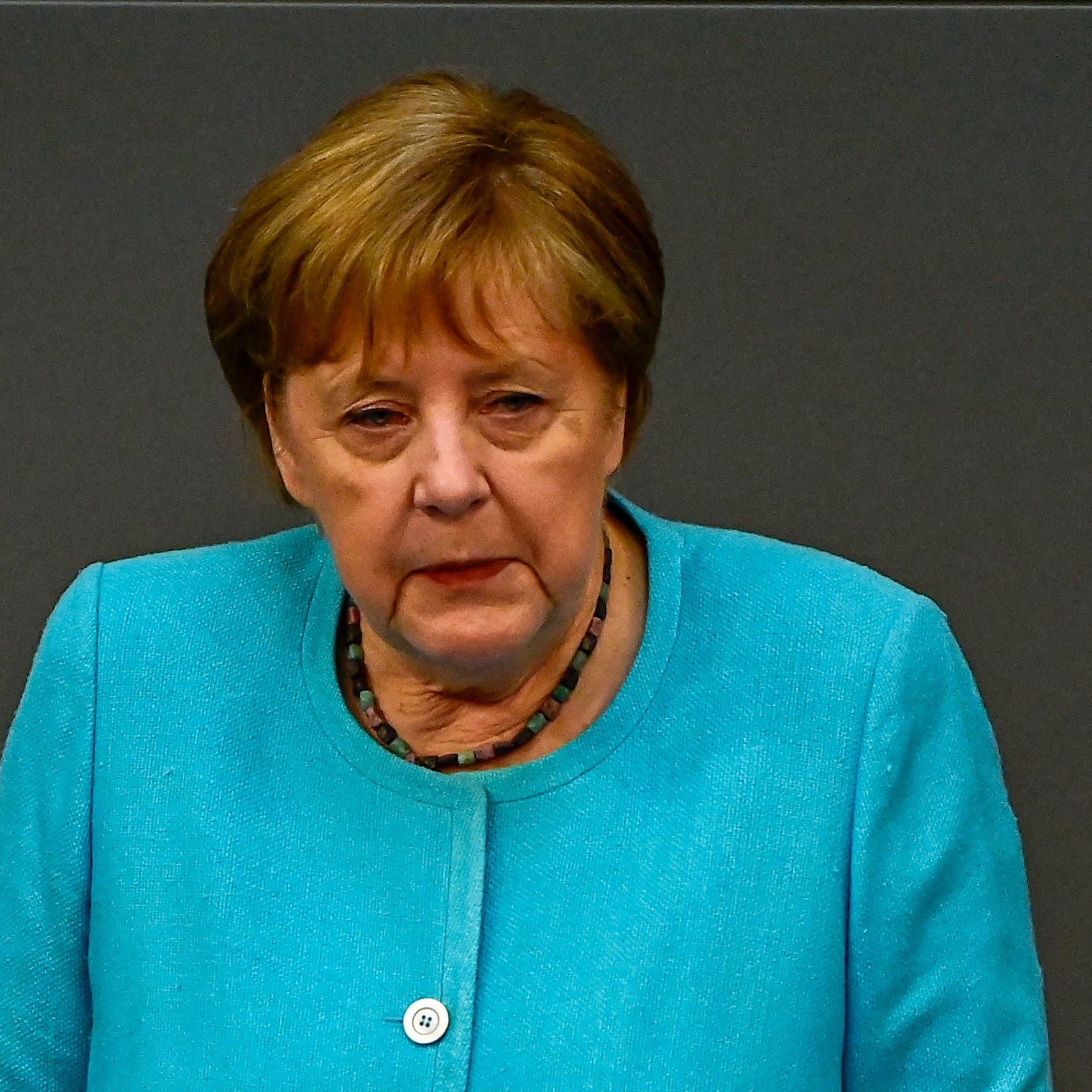 ميركل تتعهد بتقديم مساعدات مالية سريعة للمتضررين من فيضانات ألمانيا