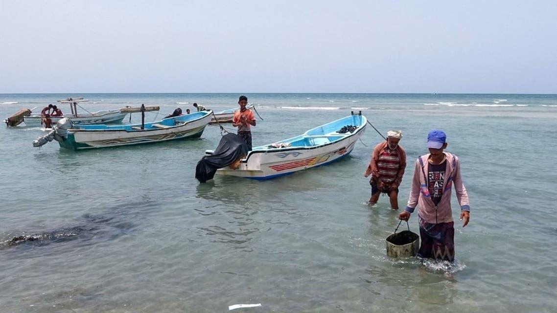 من سواحل اليمن على البحر الأحمر - من الحديدة فرانس برس