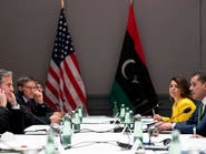 الدبيبة لبلينكن: يجب التعاون لإخراج المرتزقة من ليبيا