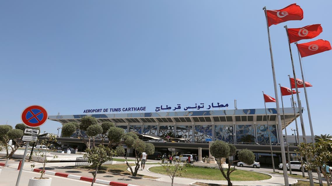 مطار قرطاج تونس الدولي (رويترز)