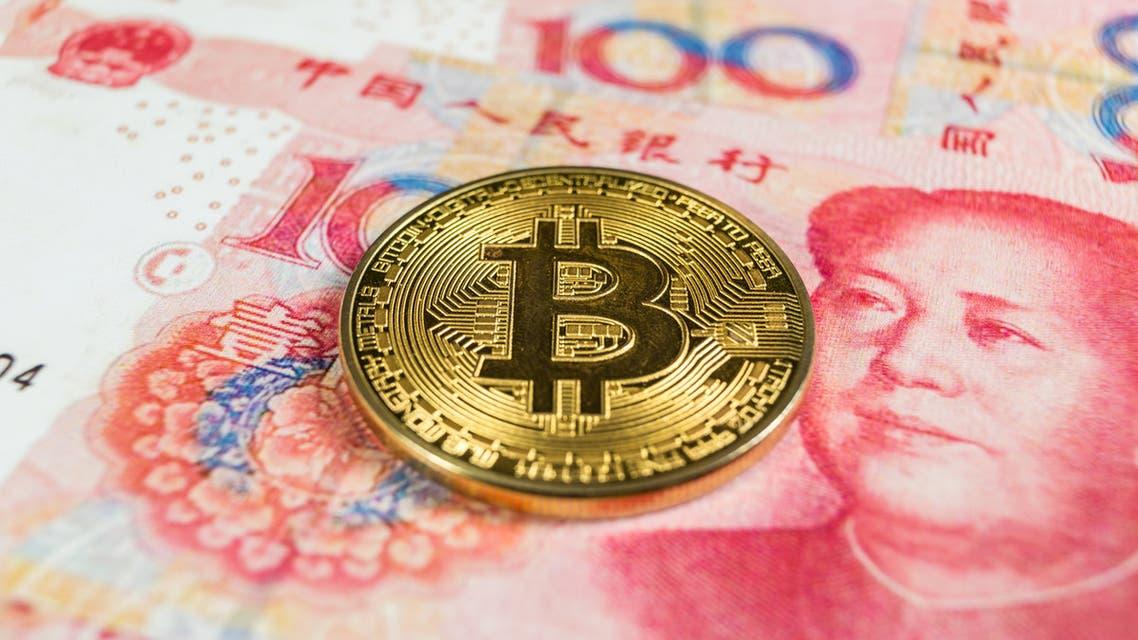 yuan per btc)