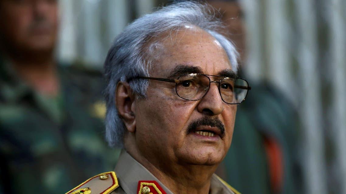 قائد الجيش الليبي خليفة حفتر (أرشيفية- رويترز)