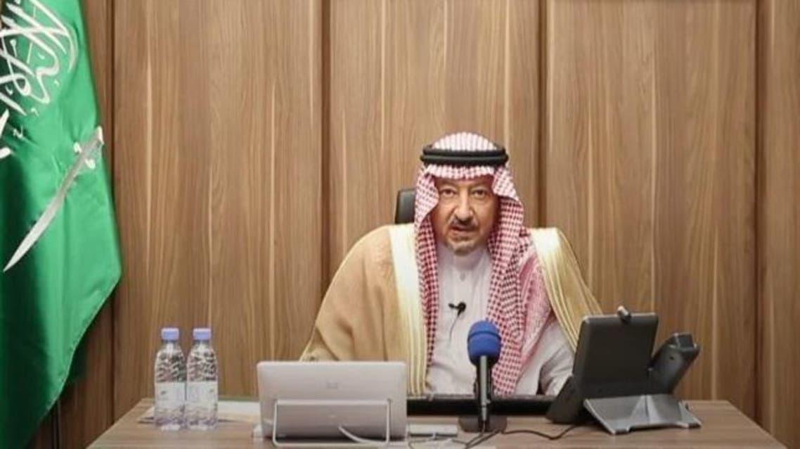 Saudi Arabia's  Deputy Minister of Foreign Affairs Waleed al-Khuraij. (SPA)
