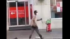 ویدیو؛ چندین کشته و زخمی در حمله با چاقو به رهگذران در آلمان