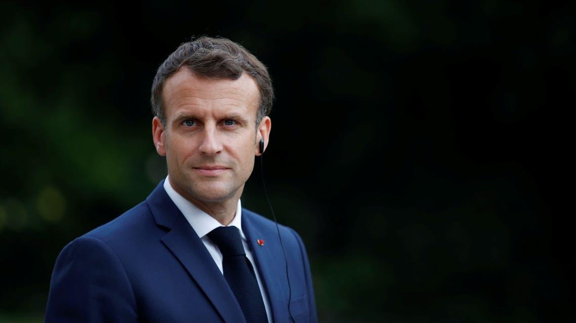 الرئيس الفرنسي إيمانويل ماكرون (رويترز)