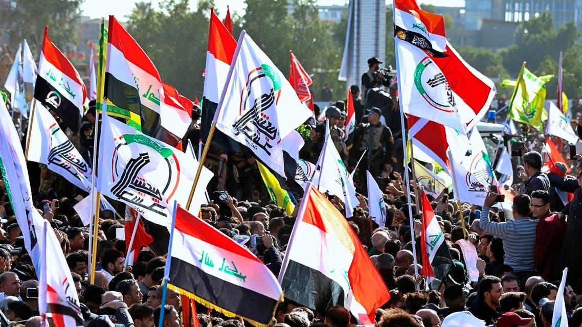 فصائل من الحشد الشعبي في العراق (أرشيفية- أسوشييتد برس)