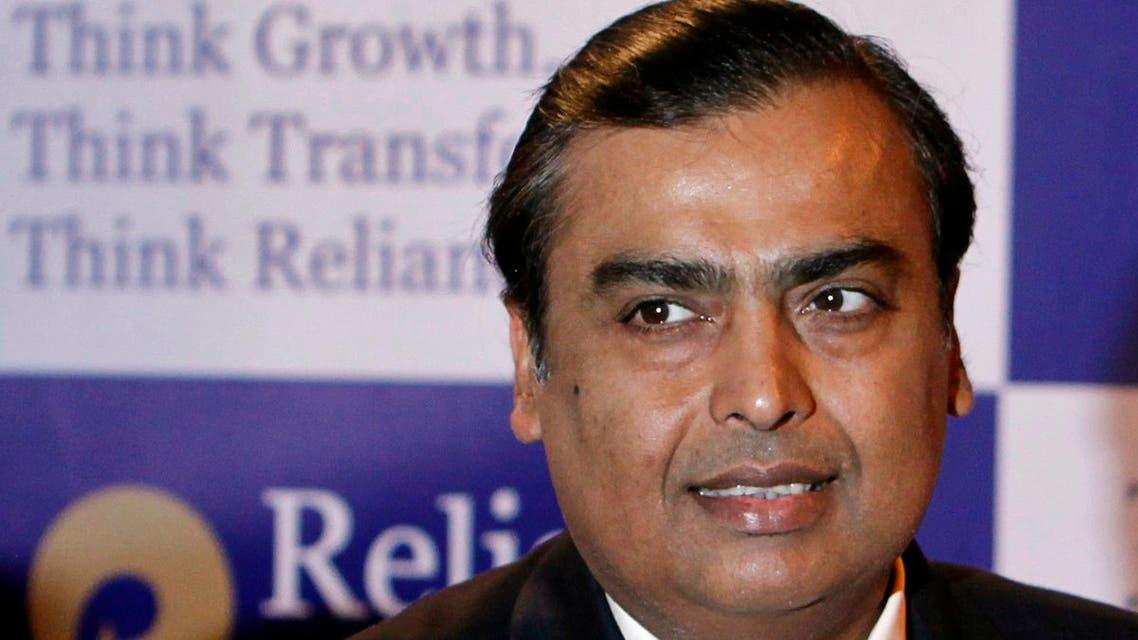 الملياردير المؤسس لمجموعة ريلاينس الصناعية الهندية، موكيش أمباني