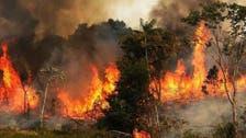 جنگلهای کوه شبلیز شهرستان دنا کماکان طعمه حریق