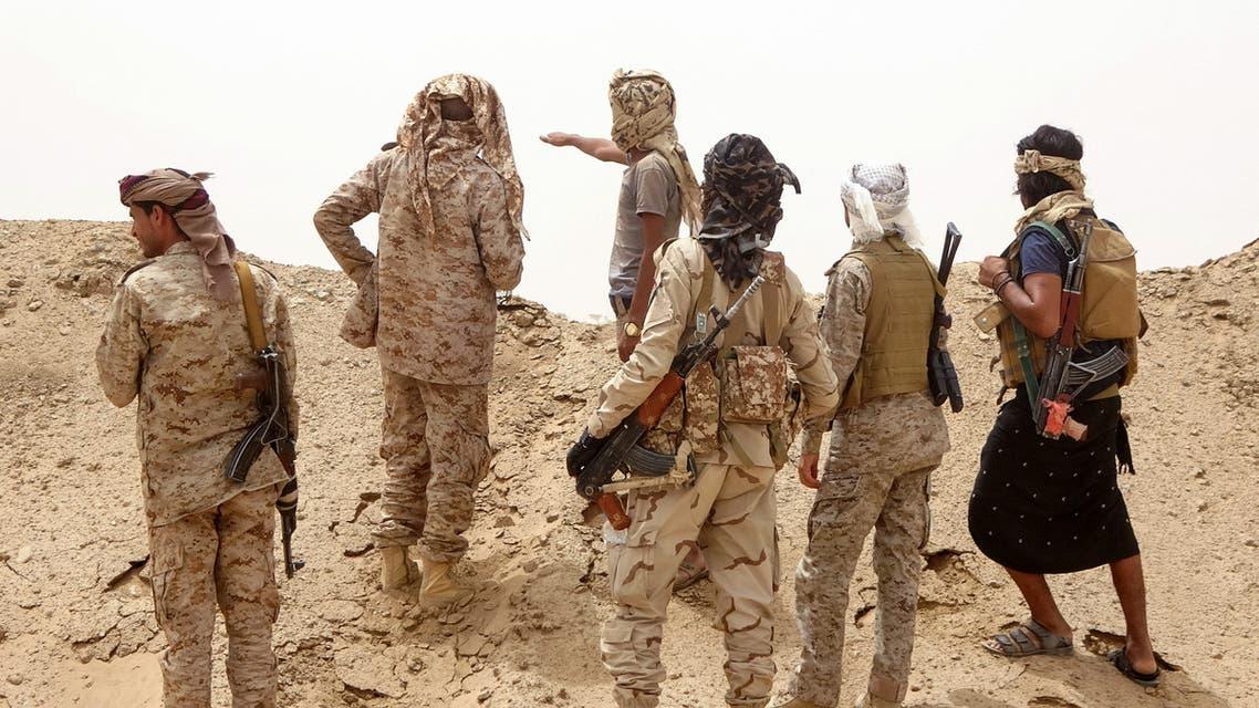 عناصر من الجيش اليمني في مأرب (فرانس برس)