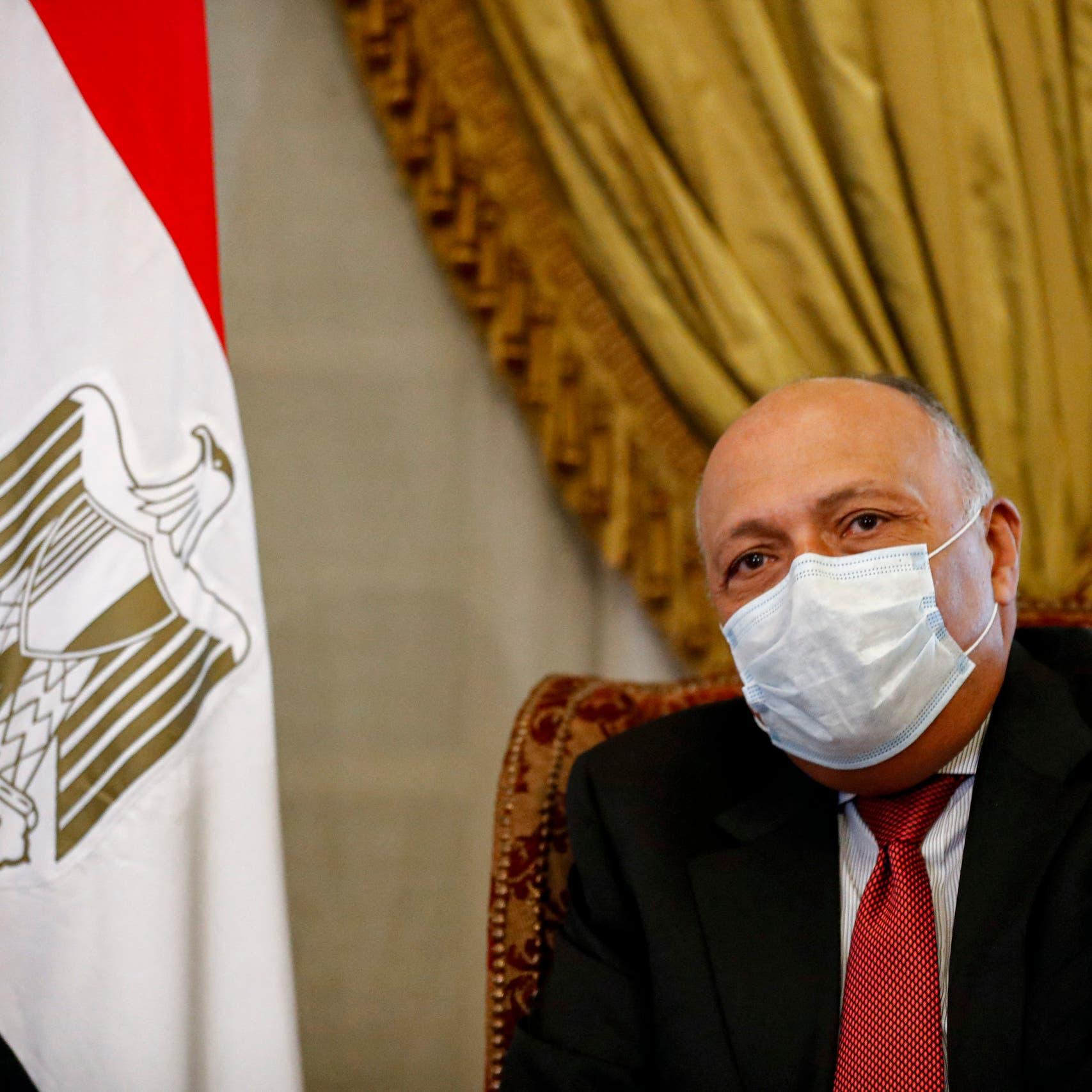 وزير خارجية مصر يكشف حقيقة توجه وفد من بلاده إلى تركيا