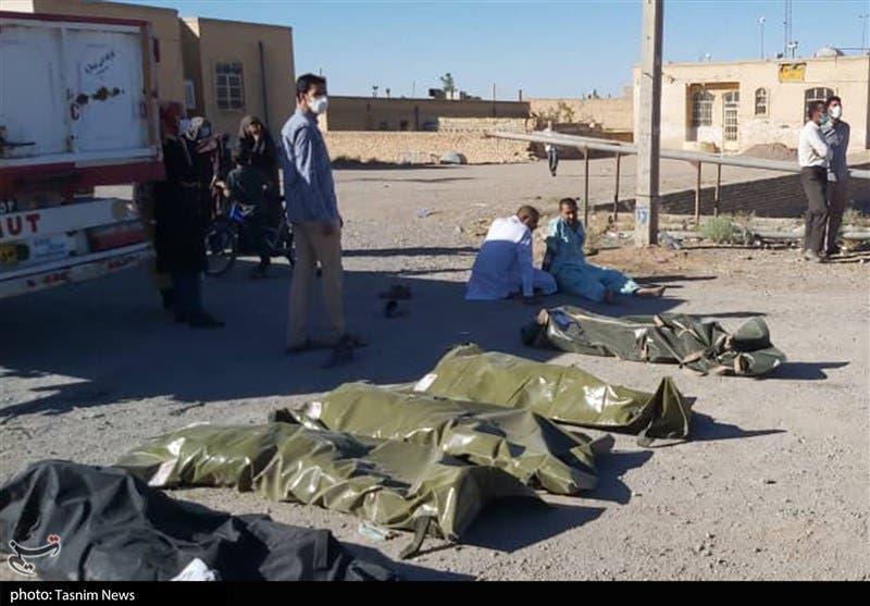 واژگونی مرگبار اتوبوس حامل سربازان در یزد