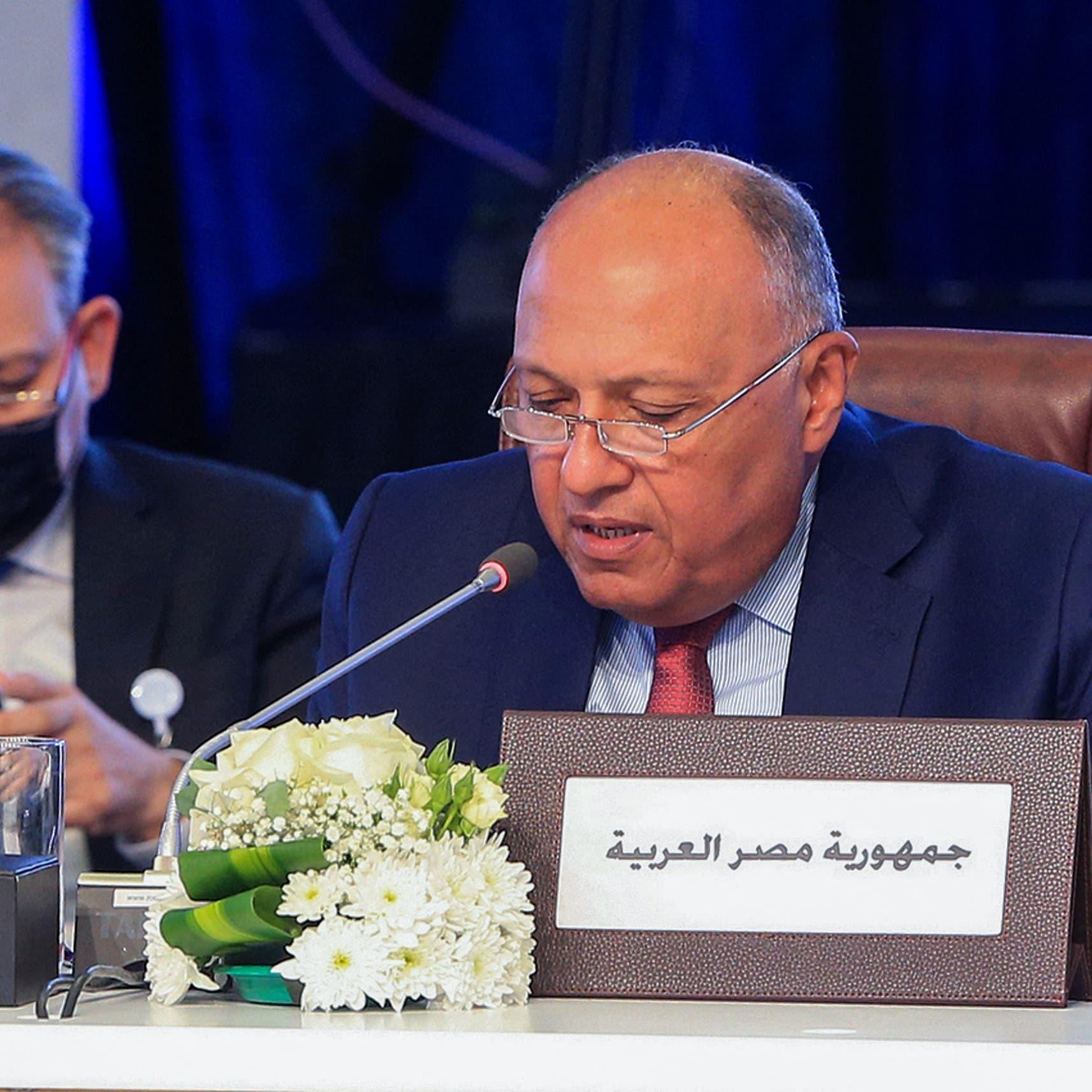 وزير خارجية مصر: سندافع عن حقوقنا بكل الوسائل المتاحة
