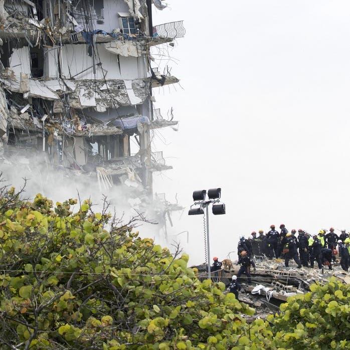 """""""تآكل مخيف"""".. صور تفضح تضرر مبنى ميامي المنهار منذ 2018"""