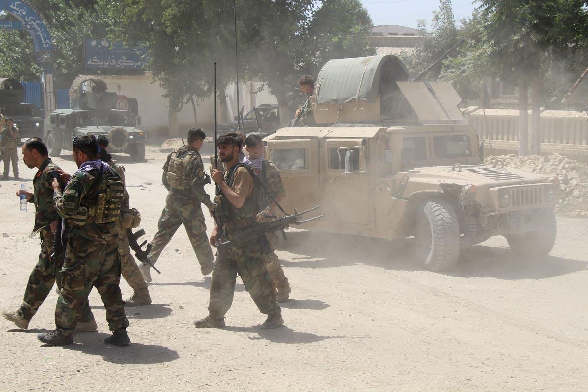 قوات النخبة الأفغانية (أرشيفية)
