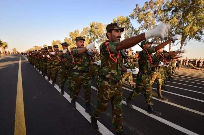 رژه نظامی حشد الشعبی