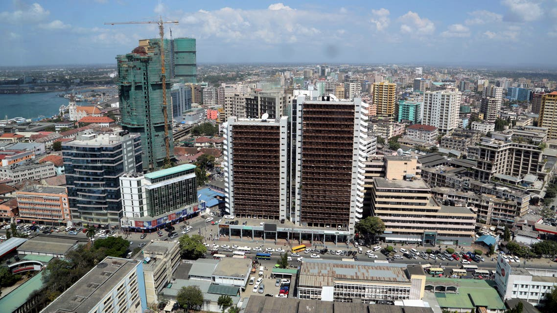 A general picture shows the skyline of Tanzania's port city of Dar es Salaam, July 12, 2013. (Reuters)