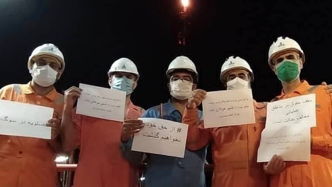 اعتصاب کارگران پتروشیمی