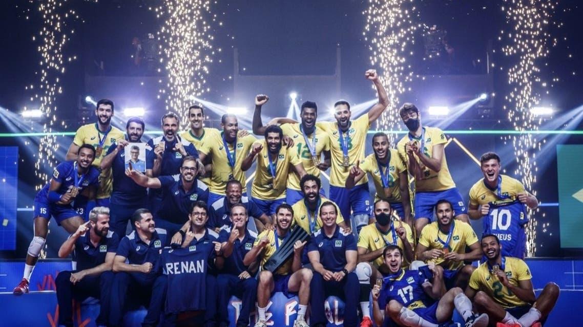 قهرمانی برزیل در لیگ ملتهای والیبال