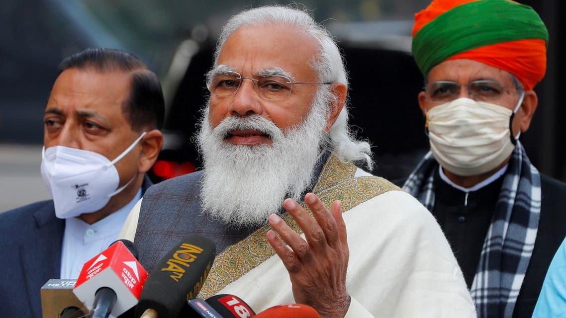 FILE PHOTO: FILE PHOTO: India's Prime Minister Narendra Modi in New Delhi, India, January 29, 2021. (File Photo: Reuters)