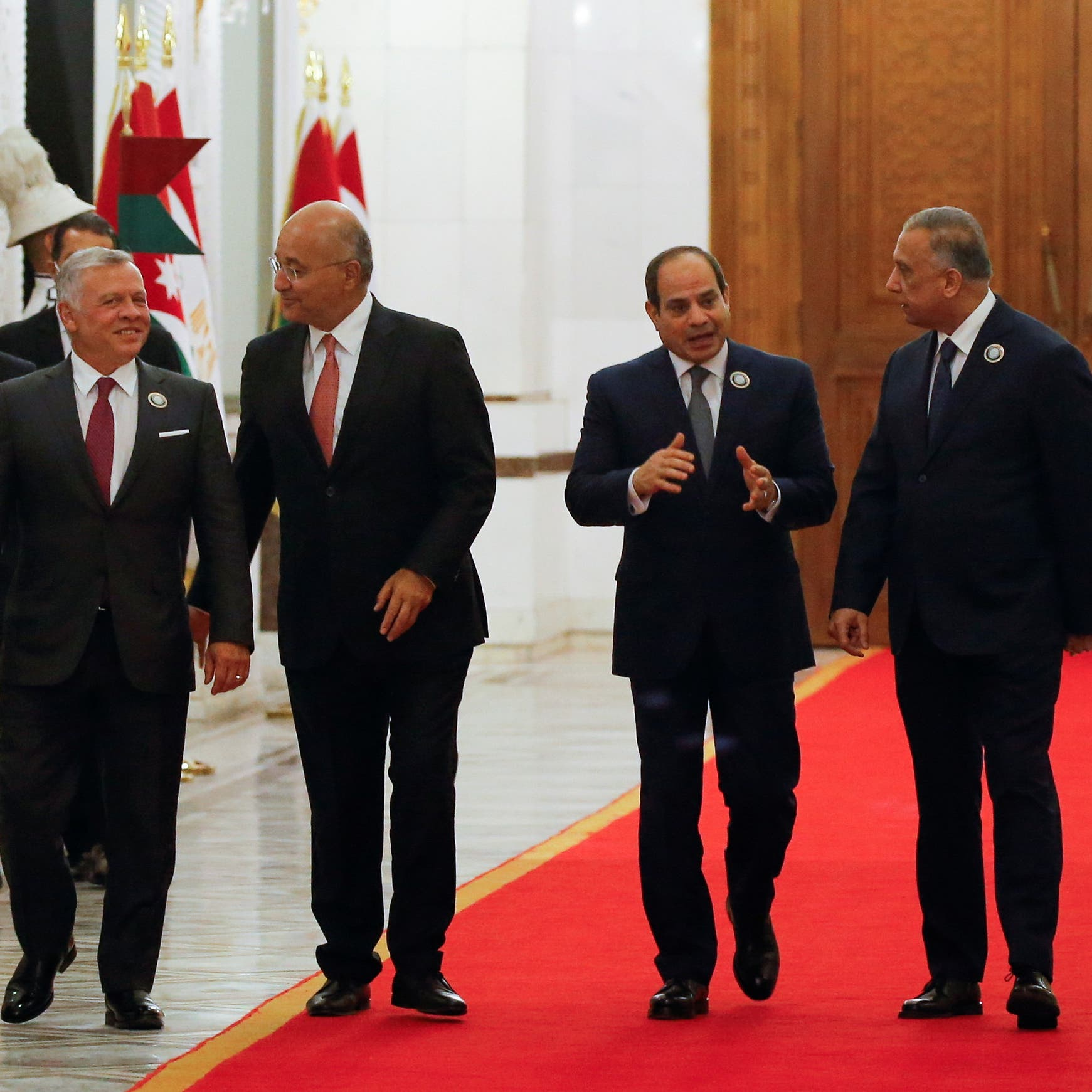 أميركا ترحب بالقمة الثلاثية في بغداد: تعزز الاستقرار في المنطقة