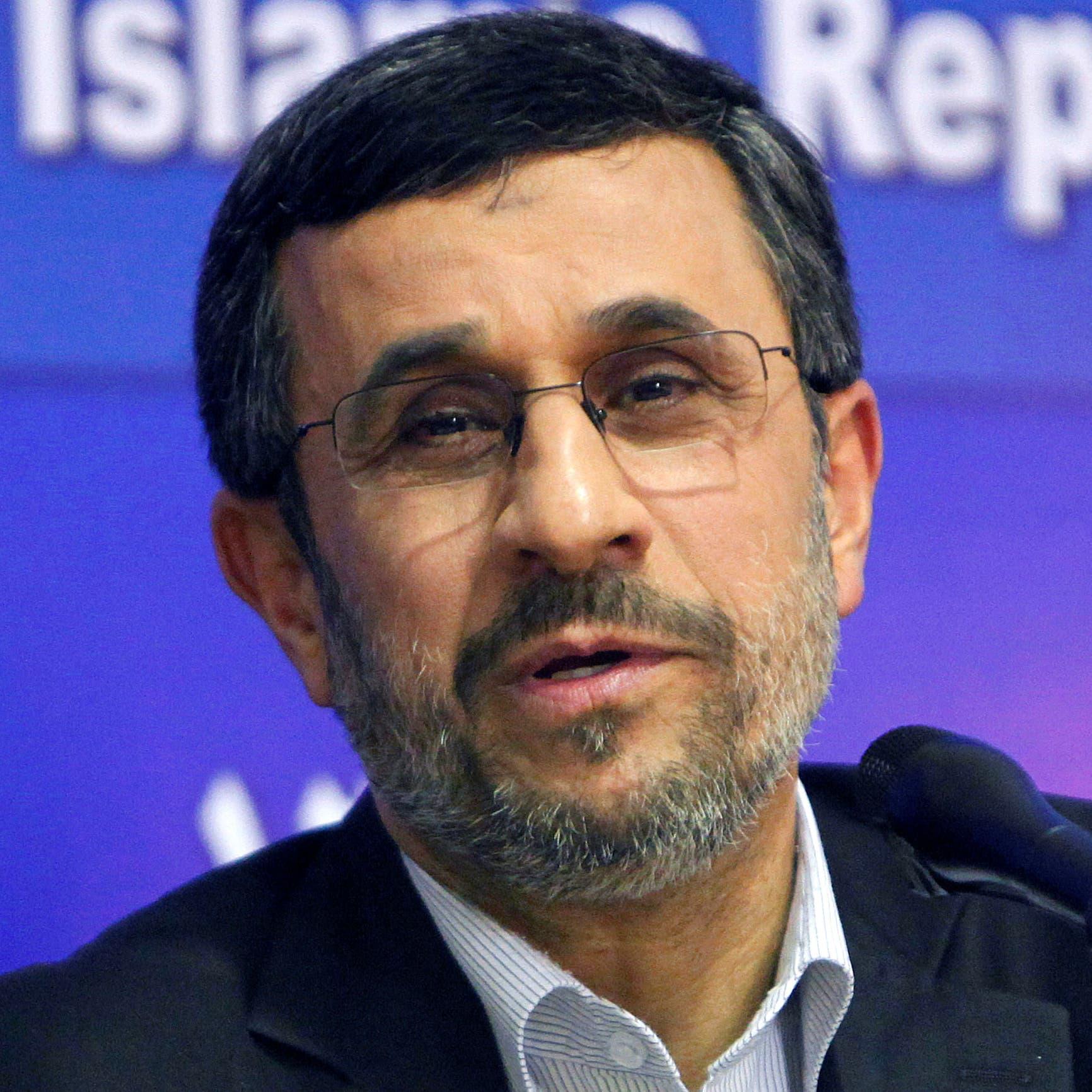 أحمدي نجاد: مسؤول أمني هددني بعد تحذيراتي من خطر طالبان