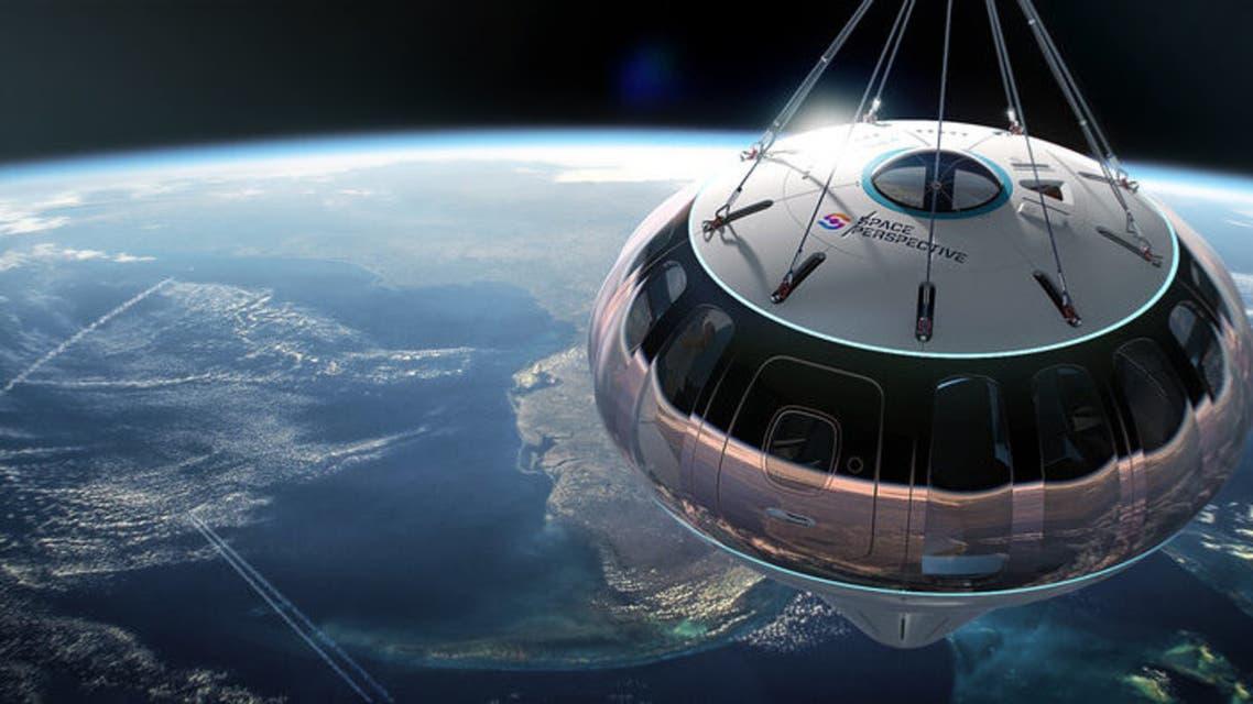 منطاد فضائي من شركة Space Perspective