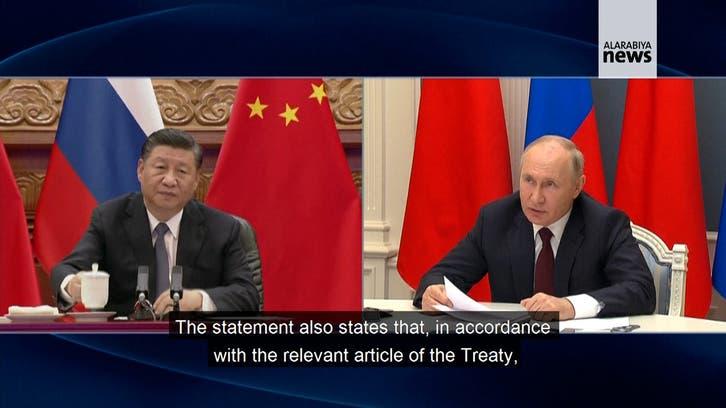Russia, China extend friendship treaty, hail ties