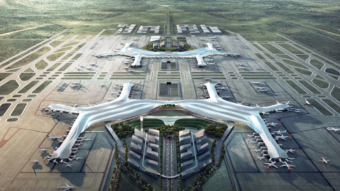 مطار Chengdu Tianfu في الصين