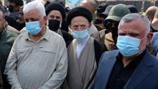 رهبران حشد الشعبی كشتهشدگان حمله هوایی آمریکا را تشییع کردند